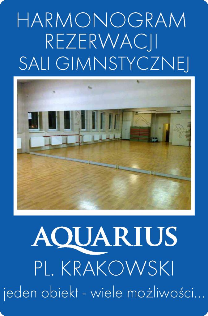 HARMONOGRAMY sala gimnastyczna