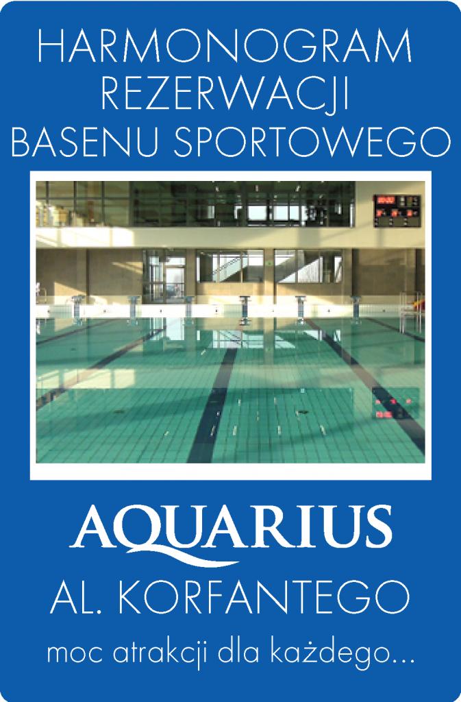 HARMONOGRAMY basen sportowy